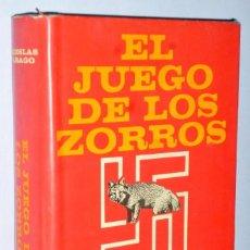 Libros de segunda mano: EL JUEGO DE LOS ZORROS (EJEMPLAR DEDICADO). Lote 141497138