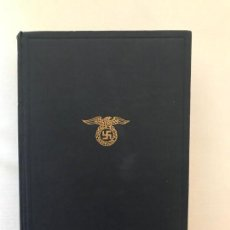 Libros de segunda mano: MEIN KAMPF 1934 MI LUCHA ADOLF HITLER. TERCER REICH,FÜHRER,NAZI,NSDAP. Lote 143044698