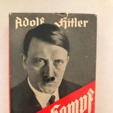 Libros de segunda mano: MEIN KAMPF 1940 MI LUCHA ADOLF HITLER. TERCER REICH,FÜHRER,NAZI,NSDAP. Lote 143047218