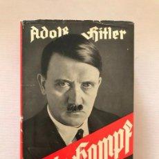 Libros de segunda mano: MEIN KAMPF 1938 MI LUCHA ADOLF HITLER. TERCER REICH,FÜHRER,NAZI,NSDAP. Lote 143049934