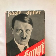 Libros de segunda mano: MEIN KAMPF 1938 MI LUCHA ADOLF HITLER. TERCER REICH,FÜHRER,NAZI,NSDAP. Lote 143050114
