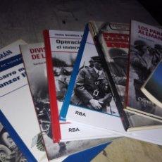 Libros de segunda mano: LOTE 9 LIBROS SEGUNDA GUERRA MUNDIAL. Lote 143334658