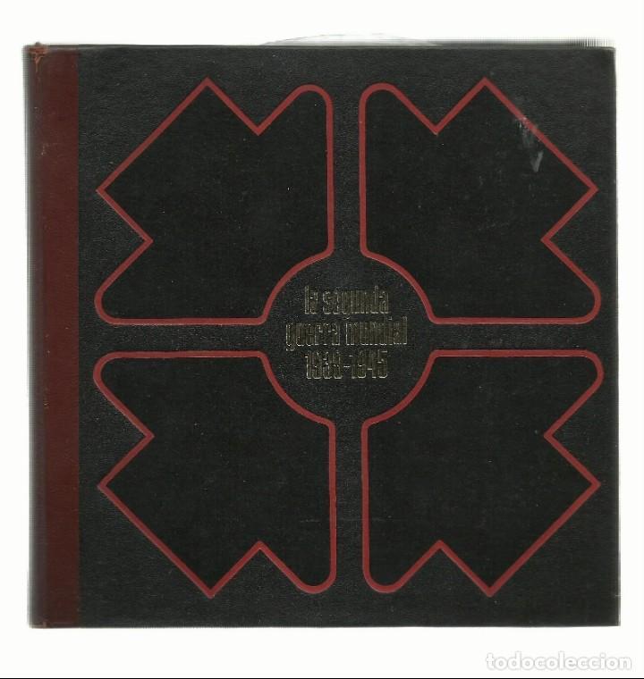 LIBRO II GUERRA MUNDIAL POR EL SONIDO Y LA IMAGEN, CON DISCOS VINILO TOMO 2 (Libros de Segunda Mano - Historia - Segunda Guerra Mundial)