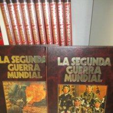 Libros de segunda mano: COLECCION COMPLETA - LA SEGUNDA GUERRA MUNDIAL - 12 TOMOS.- BIBLIOTECA ALCAR / SARPE . Lote 145744990