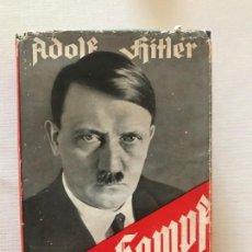 Libros de segunda mano: MEIN KAMPF 1941 MI LUCHA ADOLF HITLER. TERCER REICH,FÜHRER,NAZI,NSDAP. Lote 236617430