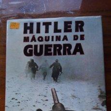 Libros de segunda mano: LIBRO TAPA DURA HITLER MAQUINA DE GUERRA.. Lote 146956570