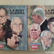 Libros de segunda mano: CARTIER: HISTORIA MUNDIAL DE LA POST GUERRA (2 VOLS., COMPLETA) - MAS-IVARS EDS./PARIS MATCH. Lote 147658518