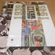 Libros de segunda mano: LA SEGUNDA GUERRA MUNDIAL A TRAVÉS DE SUS BILLETES Y SELLOS / Nº 10 / FASCÍCULO PRECINTADO.. Lote 147706746
