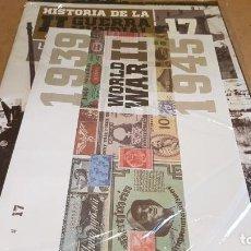 Libros de segunda mano: LA SEGUNDA GUERRA MUNDIAL A TRAVÉS DE SUS BILLETES Y SELLOS / Nº 17/ FASCÍCULO PRECINTADO.. Lote 147707094