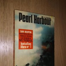 Libros de segunda mano: PEARL HARBOUR, A.J. BARKER. SAN MARTIN HISTORIA DE LA SEGUNDA GUERRA MUNDIAL. BATALLAS LIBRO Nº 1. Lote 149821614