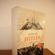 Libros de segunda mano: IAN KERSHAW: HITLER 1936-1945 (PENÍNSULA, 2000) MUY BUEN ESTADO. TAPA DURA.. Lote 207219787