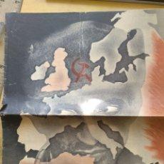 Libros de segunda mano - PROPAGANDA LA AMENAZA SECULAR DIVISION AZUL GUERRA RUSIA, FOLLETO PROPAGANDA GUERRA DE RUSIA CON FO - 151593362