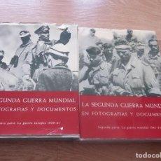 Libros de segunda mano: LA SEGUNDA GUERRA MUNDIAL EN FOTOGRAFIAS Y DOCUMENTOS. Lote 152541374