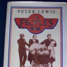 Libros de segunda mano: A PEOPLES´S WAR PETER LEWIS . Lote 153625094