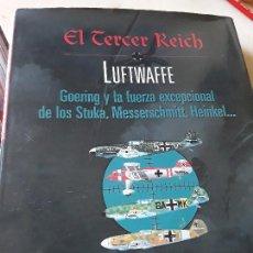 Libros de segunda mano: EL TERCER REICH: LUFTWAFFE. STUKA, MESSERSCHMITT, HEINKEL. OPTIMA. EXCELENTE ESTADO.. Lote 154408858