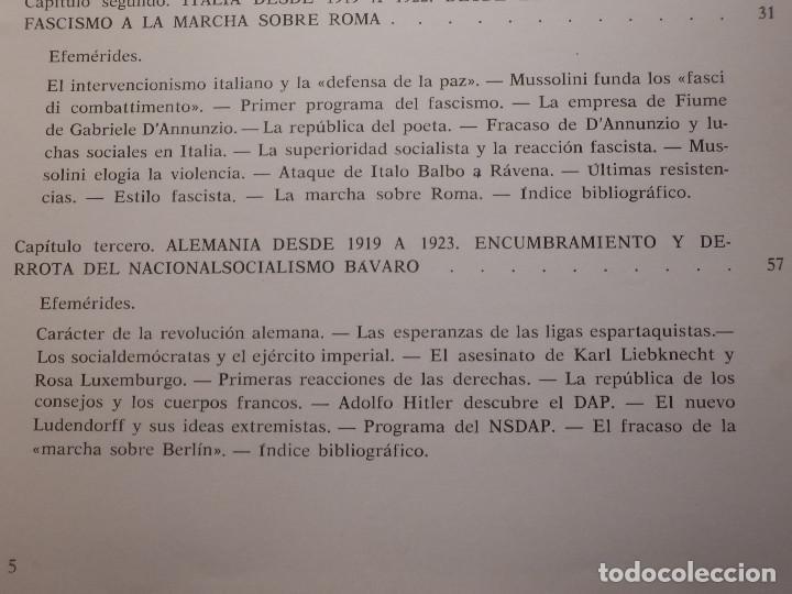 Libros de segunda mano: Libro - Fascismo - Ernst Nolte - De Mussolini a Hitler - Plaza y Janés 1975 - Foto 7 - 154613890