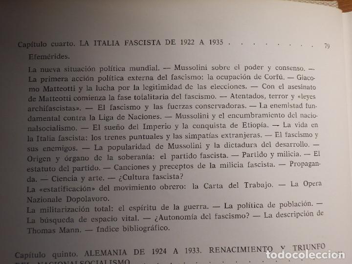 Libros de segunda mano: Libro - Fascismo - Ernst Nolte - De Mussolini a Hitler - Plaza y Janés 1975 - Foto 8 - 154613890