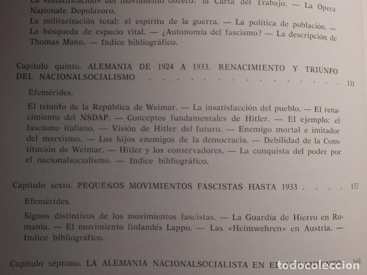 Libros de segunda mano: Libro - Fascismo - Ernst Nolte - De Mussolini a Hitler - Plaza y Janés 1975 - Foto 9 - 154613890