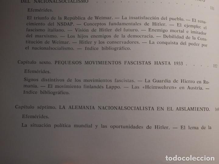 Libros de segunda mano: Libro - Fascismo - Ernst Nolte - De Mussolini a Hitler - Plaza y Janés 1975 - Foto 10 - 154613890