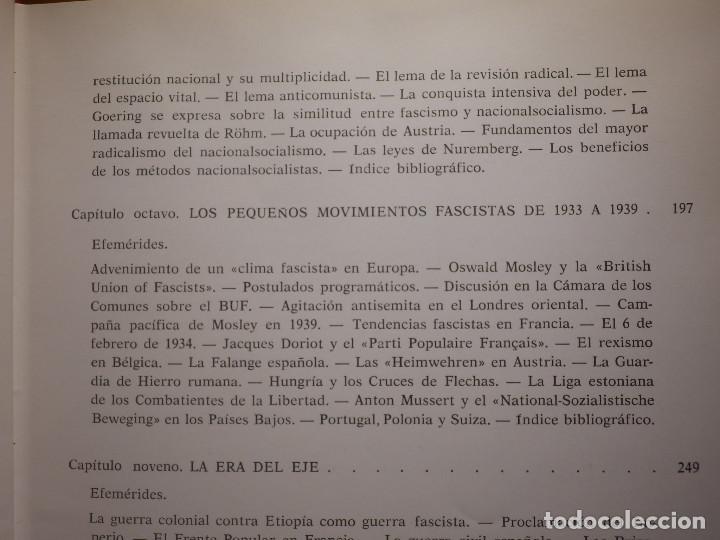 Libros de segunda mano: Libro - Fascismo - Ernst Nolte - De Mussolini a Hitler - Plaza y Janés 1975 - Foto 11 - 154613890