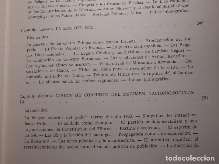 Libros de segunda mano: Libro - Fascismo - Ernst Nolte - De Mussolini a Hitler - Plaza y Janés 1975 - Foto 12 - 154613890