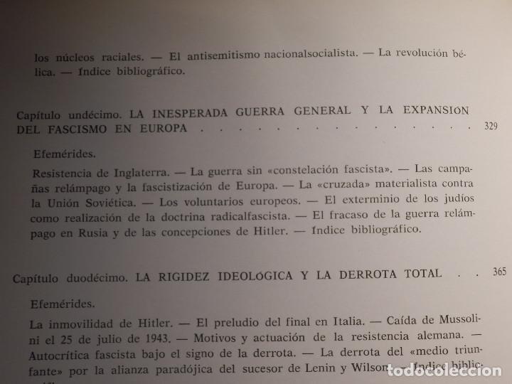 Libros de segunda mano: Libro - Fascismo - Ernst Nolte - De Mussolini a Hitler - Plaza y Janés 1975 - Foto 13 - 154613890