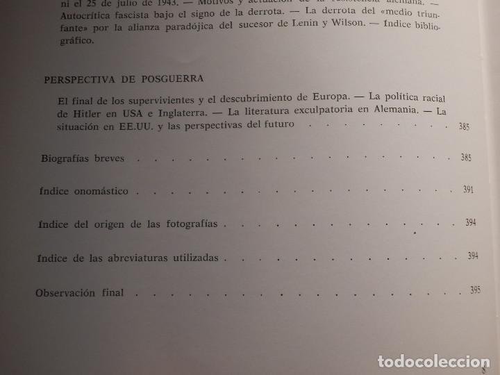 Libros de segunda mano: Libro - Fascismo - Ernst Nolte - De Mussolini a Hitler - Plaza y Janés 1975 - Foto 15 - 154613890