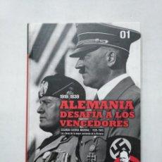Libros de segunda mano: 1919-1939, ALEMANIA DESAFÍA A LOS VENCEDORES. SEGUNDA GUERRA MUNDIAL. VOL. Nº 1. 01 EL MUNDO TDK377. Lote 155295370