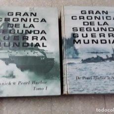 Libros de segunda mano: 3 TOMOS ,GRAN CRÓNICA DE LA SEGUNDA GUERRA MUNDIAL, . Lote 155508166