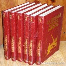 Libros de segunda mano: LA SEGUNDA GUERRA MUNDIAL 6T POR MARIANO DEL POZO Y OTROS DE ED. SARPE EN MADRID 1978. Lote 154407053