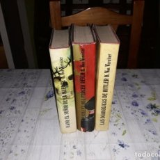 Livres d'occasion: KARL VON VEREITER 3 LIBROS 1974. Lote 159402774