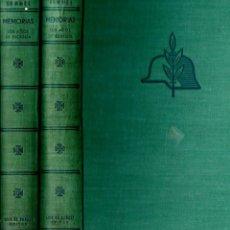 Libros de segunda mano: MARISCAL ROMMEL : MEMORIAS - DOS TOMOS (CARALT, 1954). Lote 160036002