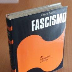 Libros de segunda mano: LIBRO FASCISMO DE MUSSOLINI A HITLER (PLAZA & JANES, 1975) - NAZI, III REICH, HITLER, FRANCO. Lote 161231309