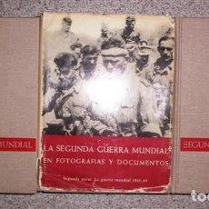 Libros de segunda mano: LA SEGUNDA GUERRA MUNDIAL : EN FOTOGRAFÍAS Y DOCUMENTOS / POR HANS-ADOLF JACOBSEN Y HANS DOLLINGER . Lote 161495310