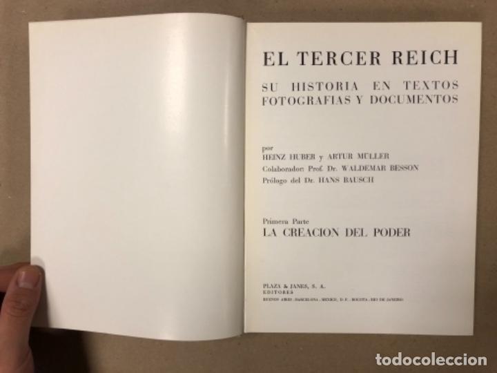Libros de segunda mano: EL TERCER REICH (2 TOMOS) + LOS ÚLTIMOS CIEN DÍAS (LA TERMINACIÓN DE LA SEGUNDA GUERRA MUNDIAL). ED. - Foto 5 - 280558203