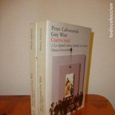Libros de segunda mano - GUERRA TOTAL - PETER CALVOCORESSI, GUY WINT - ALIANZA EDITORIAL, MUY BUEN ESTADO - 164957882
