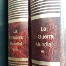 Libros de segunda mano: LA II GUERRA MUNDIAL. ENCICLOPEDIA ABC. 2 TOMOS. CARTONÉ. PESO 2 KG.. Lote 165645556