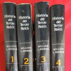 Libros de segunda mano: HISTORIA DEL TERCER REICH EDICCIONES OCEANO COMPLETO 4 TOMOS. WILLIAM SHIRER. SEGUNDA GUERRA MUNDIAL. Lote 165672670