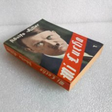 Libros de segunda mano: MI LUCHA (MEIN KAMPF ) ADOLFO HITLER EDICION PATROCINADA POR CEDADE ED. BAUPS AÑO 1974 RARO. Lote 171727309