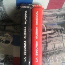 Livres d'occasion: LA SEGUNDA GUERRA MUNDIAL. CARTIER. 1971. 2 TOMOS. LAROUSSE. PARIS-MATCH. PLANETA.. Lote 166256445