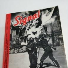 Libros de segunda mano: REVISTA SIGNAL 1940 ABRIL N° 1. Lote 166449832