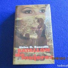Libros de segunda mano: BATALLON DE MUJERES HEINZ G. KONSALIK CIRCULO DE LECTORES 1985. Lote 166821922