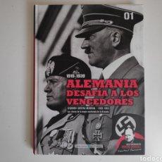Libros de segunda mano: LIBRO. 1919-1939 ALEMANIA DESAFIA A LOS VENCEDORES. SEGUNDA GUERRA MUNDIAL. TAPA DURA. Lote 166936390