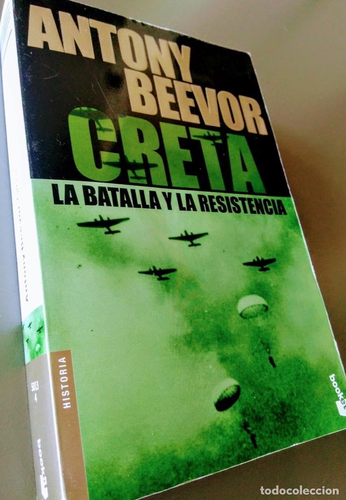 CRETA, LA BATALLA Y LA RESISTENCIA. ANTONY BEEVOR. (Libros de Segunda Mano - Historia - Segunda Guerra Mundial)