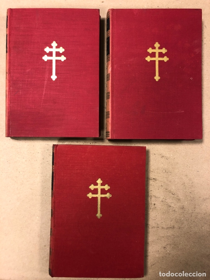 Libros de segunda mano: GENERAL DE GAULLE MEMORIAS DE GUERRA (3 TOMOS). EL LLAMAMIENTO, LA UNIDAD y lA SALVACIÓN. ED. LUIS D - Foto 2 - 168621742