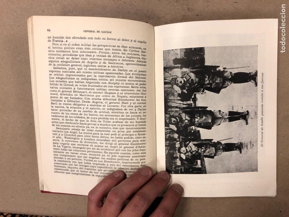 Libros de segunda mano: GENERAL DE GAULLE MEMORIAS DE GUERRA (3 TOMOS). EL LLAMAMIENTO, LA UNIDAD y lA SALVACIÓN. ED. LUIS D - Foto 13 - 168621742