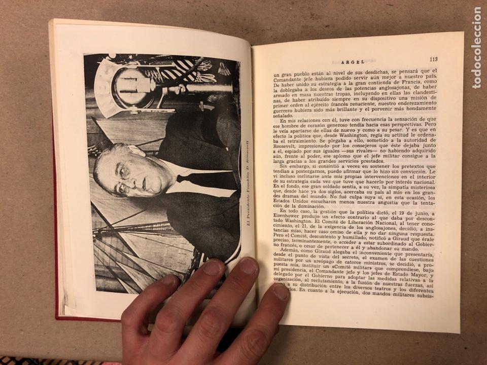 Libros de segunda mano: GENERAL DE GAULLE MEMORIAS DE GUERRA (3 TOMOS). EL LLAMAMIENTO, LA UNIDAD y lA SALVACIÓN. ED. LUIS D - Foto 14 - 168621742