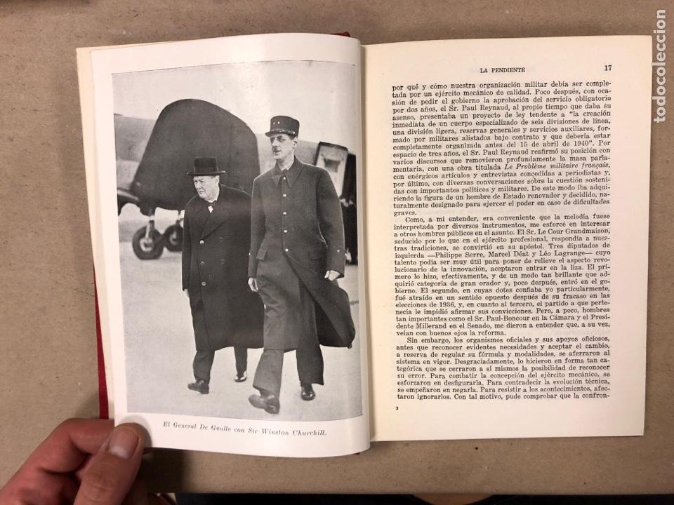 Libros de segunda mano: GENERAL DE GAULLE MEMORIAS DE GUERRA (3 TOMOS). EL LLAMAMIENTO, LA UNIDAD y lA SALVACIÓN. ED. LUIS D - Foto 18 - 168621742