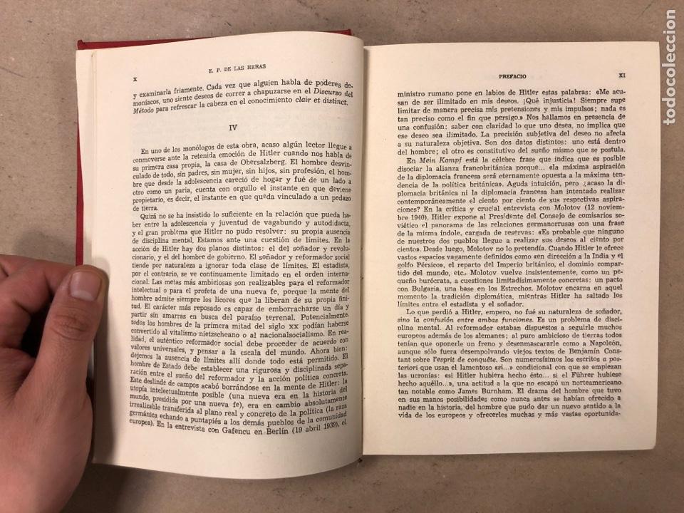 Libros de segunda mano: ADOLF HITLER. CONVERSACIONES SOBRE LA GUERRA Y LA PAZ (2 TOMOS, 1941-1942 y 1942-1944). LUIS DE CAR - Foto 6 - 168622984