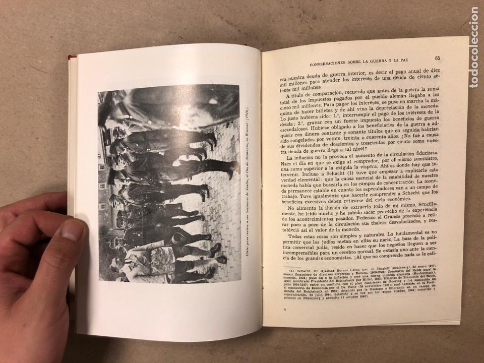 Libros de segunda mano: ADOLF HITLER. CONVERSACIONES SOBRE LA GUERRA Y LA PAZ (2 TOMOS, 1941-1942 y 1942-1944). LUIS DE CAR - Foto 7 - 168622984